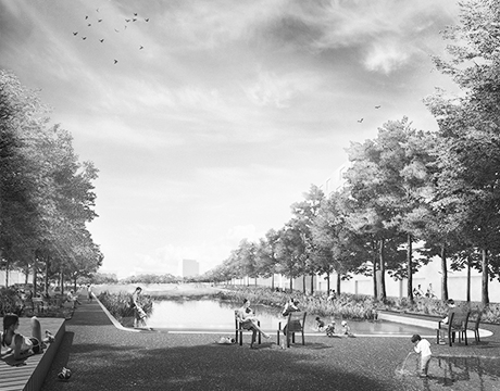 Quartiers- und Landschaftspark Berlin Tegel